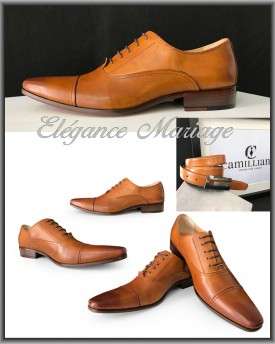 chaussures homme mariage camel. Black Bedroom Furniture Sets. Home Design Ideas